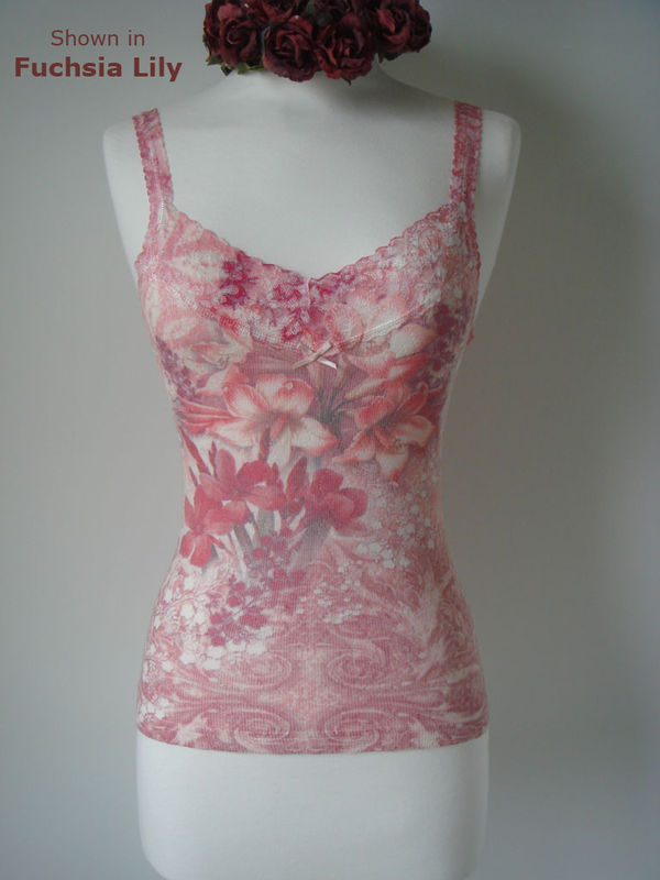 Now 70% Off..Our Floral Print Lace Camisoles - product image