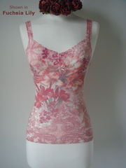 Now 65% Off..Short Style Floral Print & Lace Camisoles - product images 5 of 7