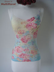 Now 70% Off..Our Floral Print Lace Camisoles - product images 2 of 7