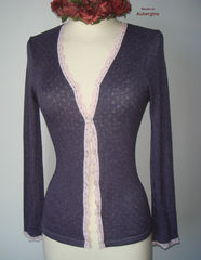Now 75% Off!! Our Petite Scallop Lace Cardigan - product images 7 of 8