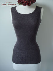 More than 50% Off !!... Our Sparkle Knit Tank Top & Cardigan - product images 2 of 3