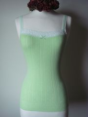 Wow 70% Off!! ..New Colours in Our Cotton & Lace Camisole - product images 2 of 2