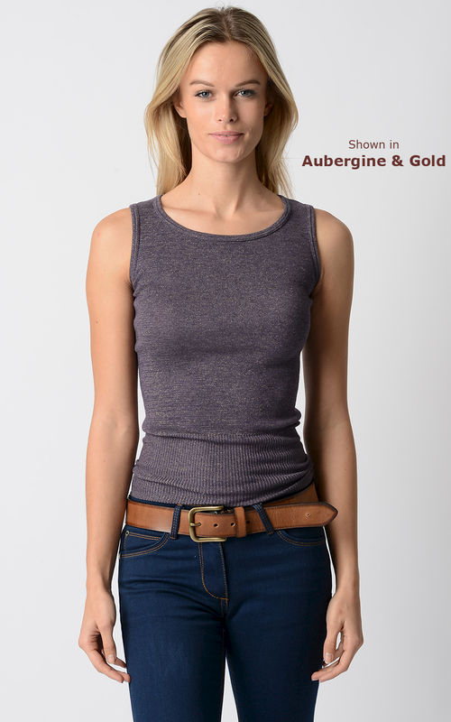 More than 50% Off !!... Our Sparkle Knit Tank Top & Cardigan - product image