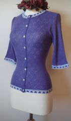 40% Off New Colours!! GORGEOUS AND CUTE Heart Lace Cardigan.. - product images 2 of 2