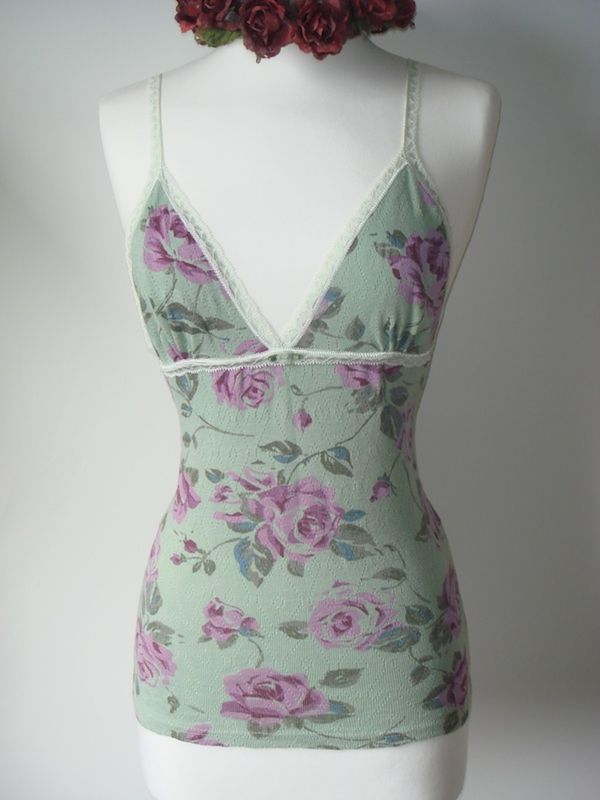 Wow 73% Off!! Our Cotton Rose Print Bra Camisole - product image