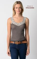 WOW 60% Off!! Our Classic Wide Lace Wide Strap Camisole - product images 3 of 5