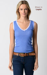 Wow 70% Off! Our Scallop Lace Tank Top - product images 3 of 6