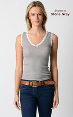 Wow 70% Off! Our Scallop Lace Tank Top - product images 5 of 6