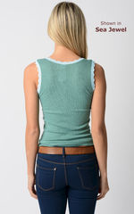 Wow 70% Off! Our Scallop Lace Tank Top - product images 2 of 6
