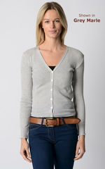 An Unmissable 70% Off!! Our Cotton Pointelle V Cardigan - product images 1 of 3