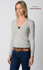 An Unmissable 70% Off!! Our Cotton Pointelle V Cardigan - product images 2 of 3