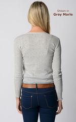 An Unmissable 70% Off!! Our Cotton Pointelle V Cardigan - product images 3 of 3