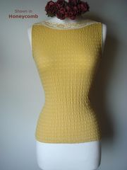 Wow 75% Off!! Our Cotton Heart Knit Sleeveless Top - product images 1 of 3