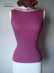 Wow 75% Off!! Our Cotton Heart Knit Sleeveless Top - product images 3 of 3