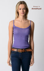 Now 70% Off! Our Plain Knit Bound Edge Camisole - product images 7 of 8
