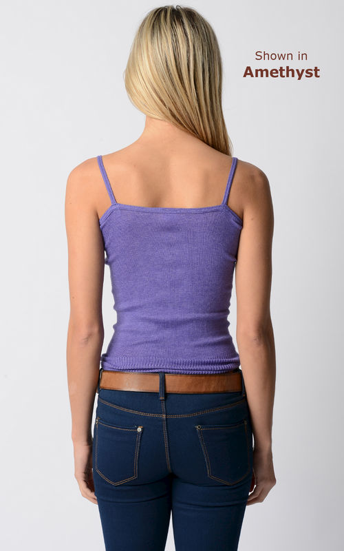 Now 70% Off! Our Plain Knit Bound Edge Camisole - product image
