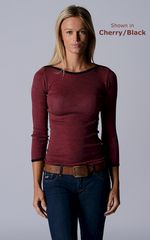 FLASH SALE 55% OFF!! Our Black Microstripe Boat Neck Top - product images 2 of 4