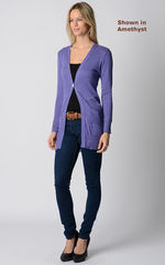 Wow 65% Off!! Our Plain Knit Boyfriend Cardigan - product images 3 of 14
