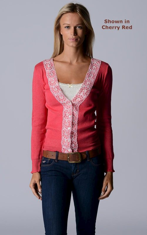 NOW 30% OFF! Our Classic Wide Lace Cardigan - product image