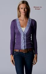 Our Classic Wide Lace Cardigan - product images 5 of 5