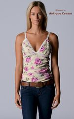 Wow 73% Off!! Our Cotton Rose Print Bra Camisole - product images 5 of 8