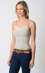WOW 79% Off!! Our Cotton and Lace Camisole - product images 2 of 2