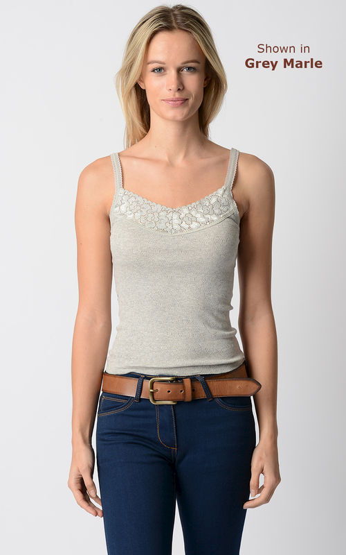 WOW 79% Off!! Our Cotton and Lace Camisole - product image