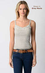 WOW 79% Off!! Our Cotton and Lace Camisole - product images 1 of 2