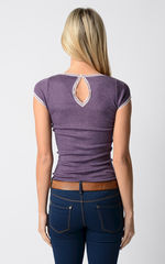 FLASH SALE 60% OFF! Our Narrow Lace Keyhole Back Top - product images 6 of 9