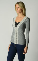 NOW 30% OFF! Our Lace Cuff Cardigan in 3 MORE COLOURS - product images 6 of 6