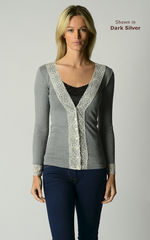 NOW 30% OFF! Our Lace Cuff Cardigan in 3 MORE COLOURS - product images 5 of 6