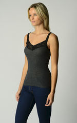 30% Off! Our Black Wide Lace Camisole - product images 2 of 4