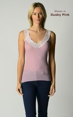 WOW 60% Off !! Our Classic Wide Lace Wide Strap Camisole - product images 5 of 10