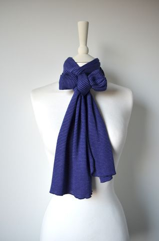 Our,Micro,Stripe,Knit,Super,Soft,Scarf,palace london, palace, scarf, knitted scarf, pointelle, fine knit, striped scarf
