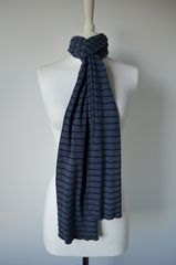 Our Narrow Stripe Knit Super Soft Scarf - product images 2 of 5