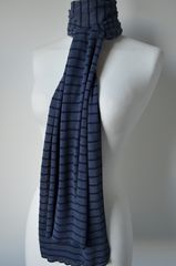 Our Narrow Stripe Knit Super Soft Scarf - product images 5 of 5