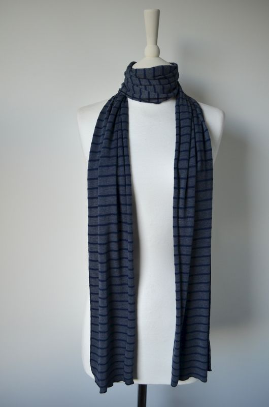 Our Narrow Stripe Knit Super Soft Scarf - product image