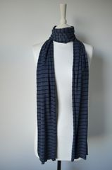 Our Narrow Stripe Knit Super Soft Scarf - product images 4 of 5