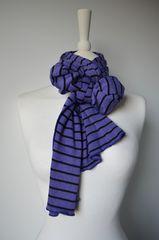 Wow Over 60% Off! Our Narrow Stripe Knit Super Soft Scarf - product images 1 of 4