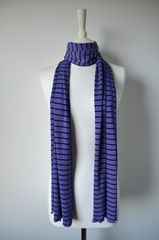 Wow Over 60% Off! Our Narrow Stripe Knit Super Soft Scarf - product images 2 of 4