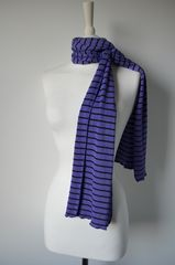 Wow Over 60% Off! Our Narrow Stripe Knit Super Soft Scarf - product images 4 of 4