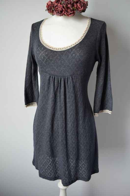 Wow 65% Off !! Our Trumpet Sleeve Pointelle & Lace Tunic - product image