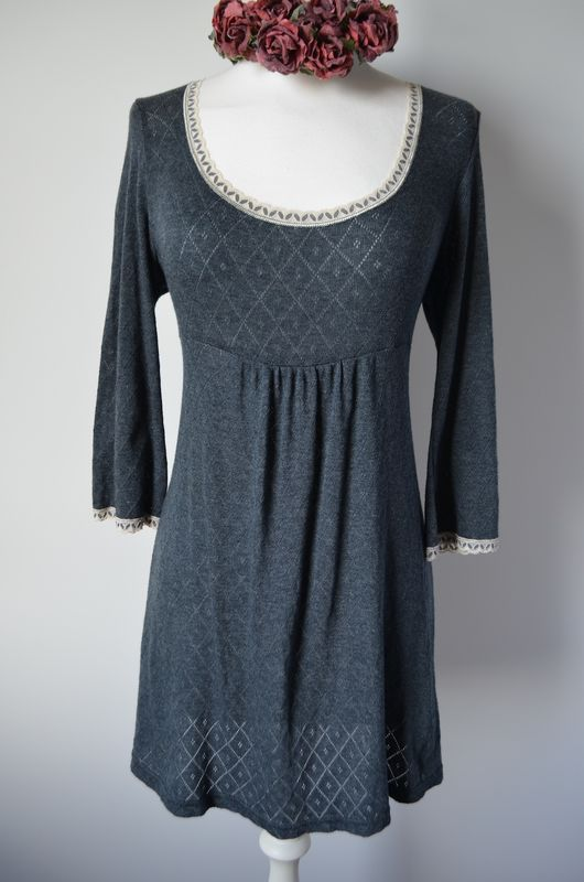 Wow 65% Off!! New Colours in Our Trumpet Sleeve Pointelle & Lace Tunic - product image