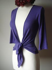 Now 30% Off Pointelle Tie Cardigan in New Colours - product images 2 of 12