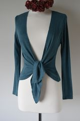 Now 30% Off Pointelle Tie Cardigan in New Colours - product images 10 of 12