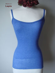 Now 60% Off!! Our Plain Knit Bound Edge Camisole - product images 5 of 6