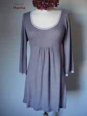 Wow 65% Off!!...Our Trumpet Sleeve Pointelle & Lace Tunic - product images 5 of 6