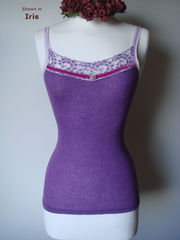 More Colours in Our Fuchsia Velvet Trim Twinset - product images 12 of 12
