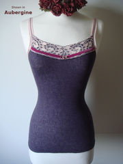More Colours in Our Fuchsia Velvet Trim Twinset - product images 4 of 12