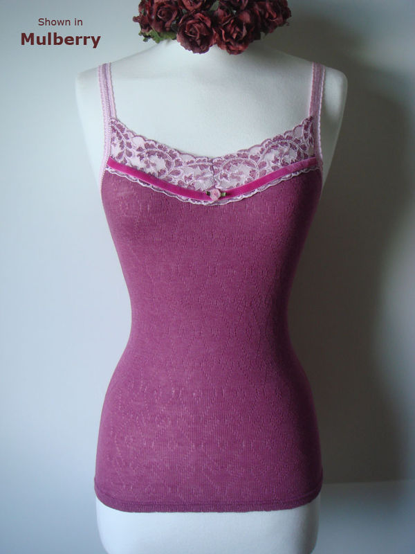 More Colours in Our Fuchsia Velvet Trim Twinset - product image